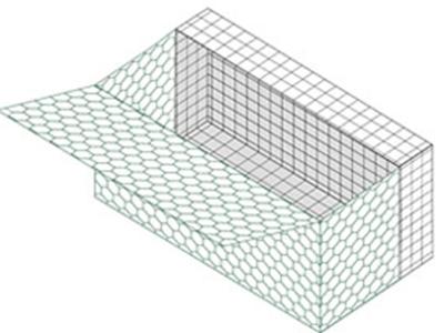 无锈面板复合石笼
